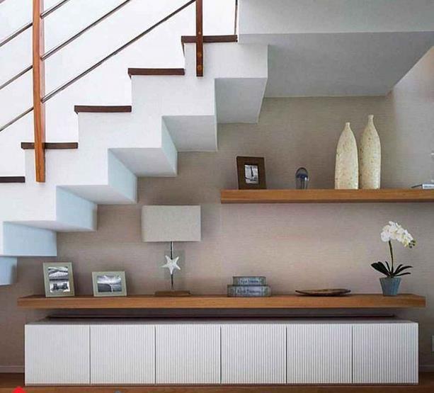 Biến gầm cầu thang thành những nơi tiện ích, đẹp như tranh vẽ ai cũng mê mệt