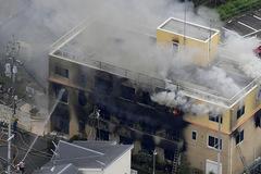 Xưởng phim hoạt hình Nhật bị đốt, hàng chục người thương vong