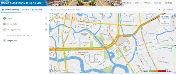 Người dân TP.HCM hưởng nhiều tiện ích từ giao thông thông minh