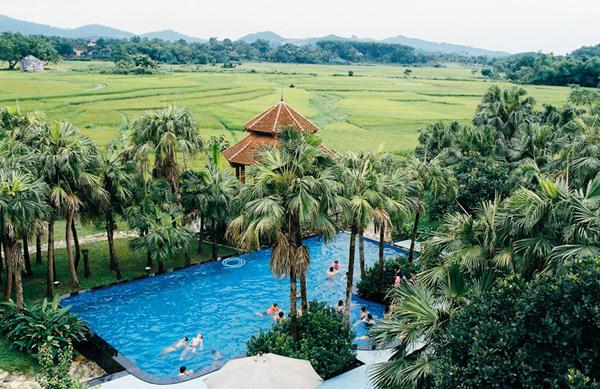 Những điểm nghỉ dưỡng lý tưởng quanh Hà Nội 60km