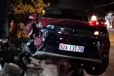 Nữ nhân viên ở Quảng Nam bị ô tô chạy ngược chiều tông chết