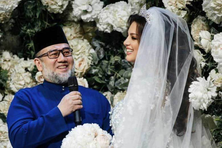 cựu vương Malaysia,hoa hậu Nga,ly hôn,Malaysia