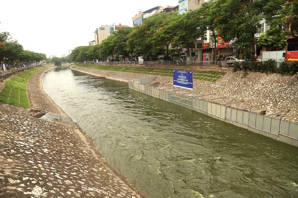 Chuyên gia Nhật tính kế không để triệu khối nước cuốn trôi kết quả sông Tô Lịch