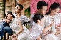 Sau 4 năm lấy Khánh Thi, Phan Hiển đã biến trang cá nhân thành 'tiểu thuyết ngôn tình' với bà xã hơn tuổi