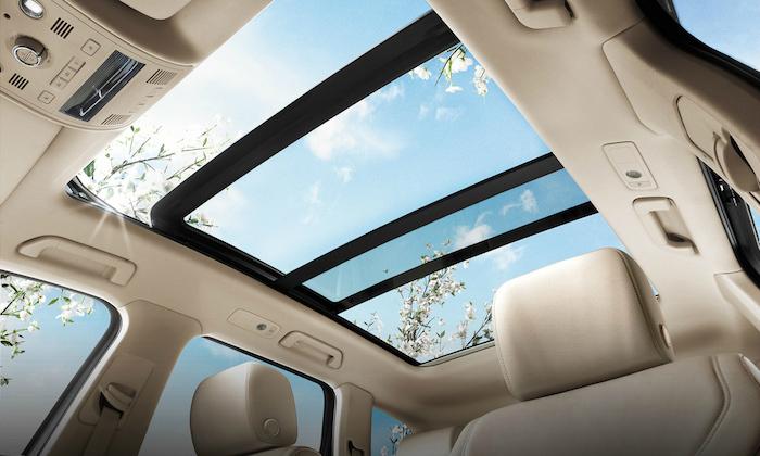 cửa sổ trời,bảo dưỡng cửa sổ trời,panorama