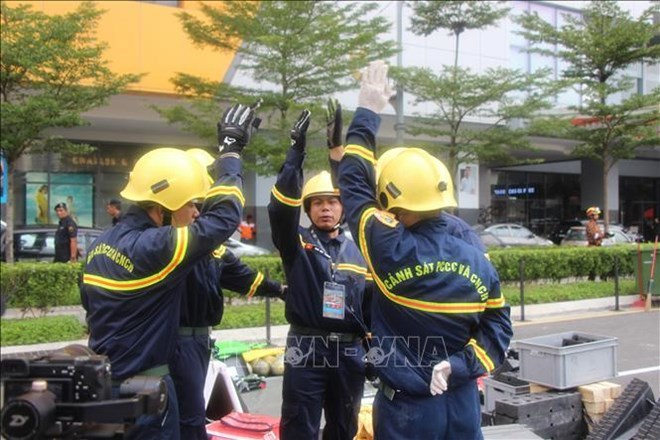 Vietnam joins int'l rescue competition in Malaysia