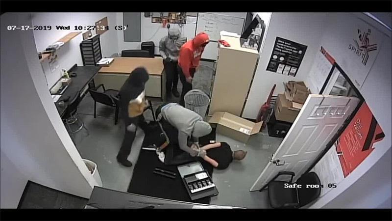 Xem cảnh sát Mỹ tóm sống băng cướp như trong phim