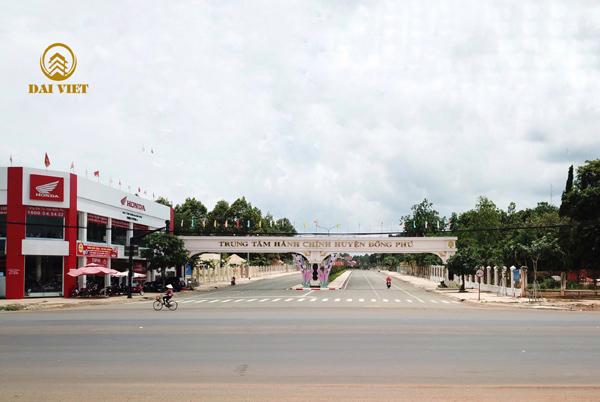Đồng Phú - 'tâm điểm' mới của thị trường đất nền Bình Phước