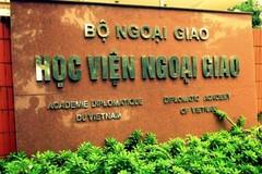 Ngưỡng đảm bảo chất lượng đầu vào của Học viện Ngoại giao là 19 điểm