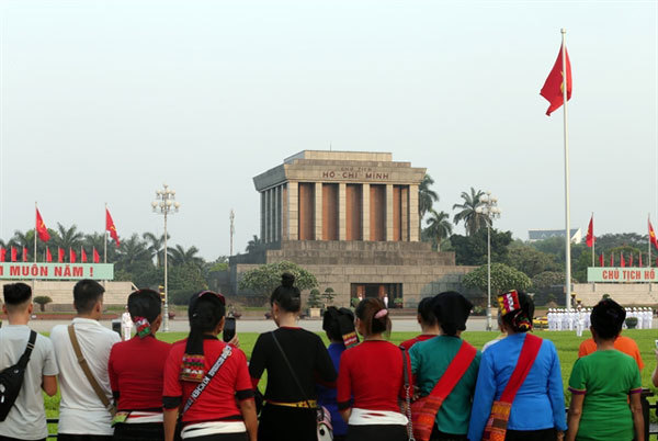 President Ho Chi Minh's embalmed body remains well-preserved: council