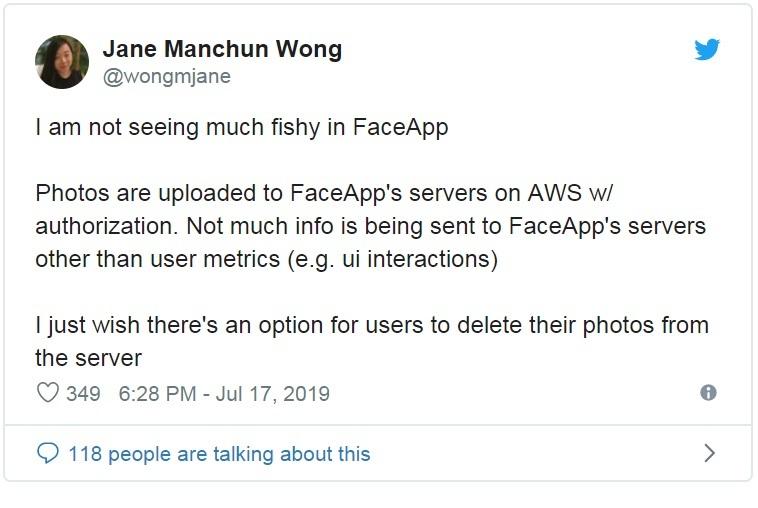 FaceApp,Dữ liệu cá nhân,Quyền riêng tư,Ứng dụng di động