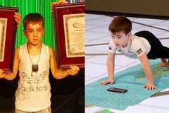 Bé 6 tuổi lập hai kỷ lục thế giới, chống đẩy gần 9.000 lần