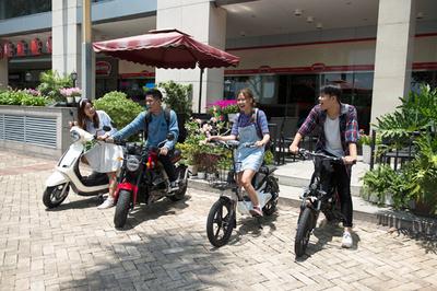 Xe điện - phương tiện di chuyển của tương lai