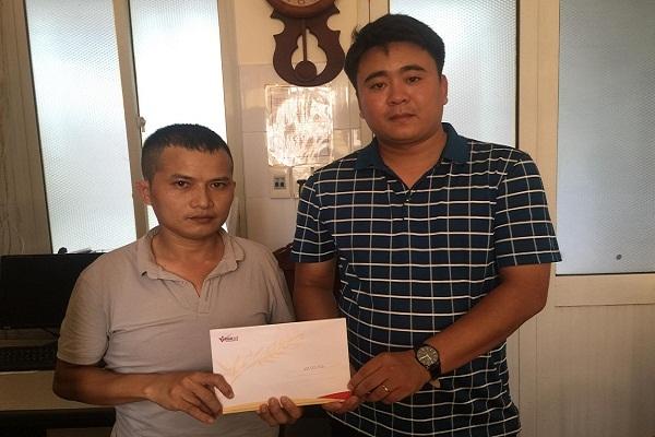 Bé Nguyễn Đinh Minh Khang bị bỏng nước sôi đã xuất viện về nhà