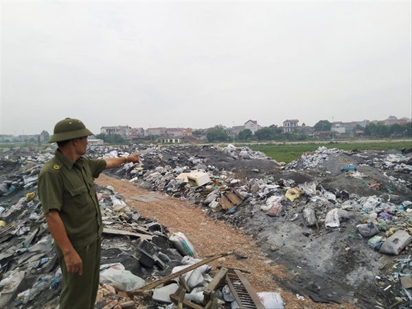 Villages get rich but suffer environmental consequences
