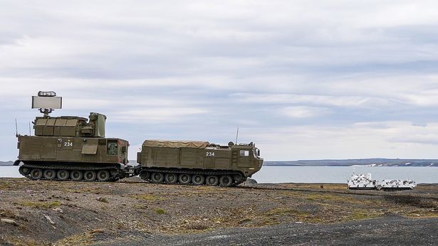 Nga,Bắc cực,tên lửa,quân sự,quân đội,Vladimir Putin