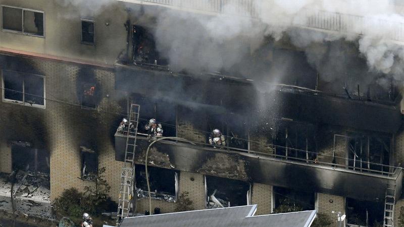 Thủ phạm khai động cơ đốt xưởng phim Nhật làm 33 người chết