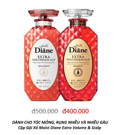 Moist Diane - dầu gội tinh dầu, không silicon Nhật Bản 'phủ sóng' thị trường Việt