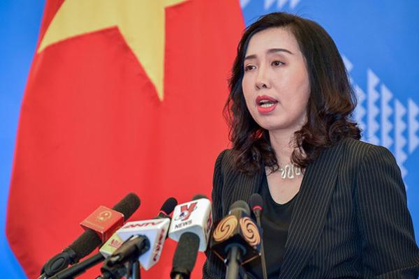 Yêu cầu Trung Quốc rút toàn bộ tàu ra khỏi vùng biển Việt Nam