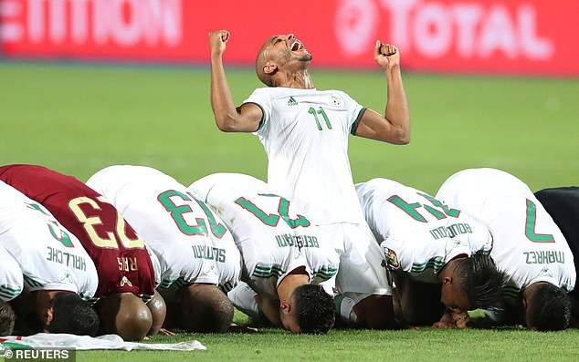 Senegal,Algeria,CAN 2019
