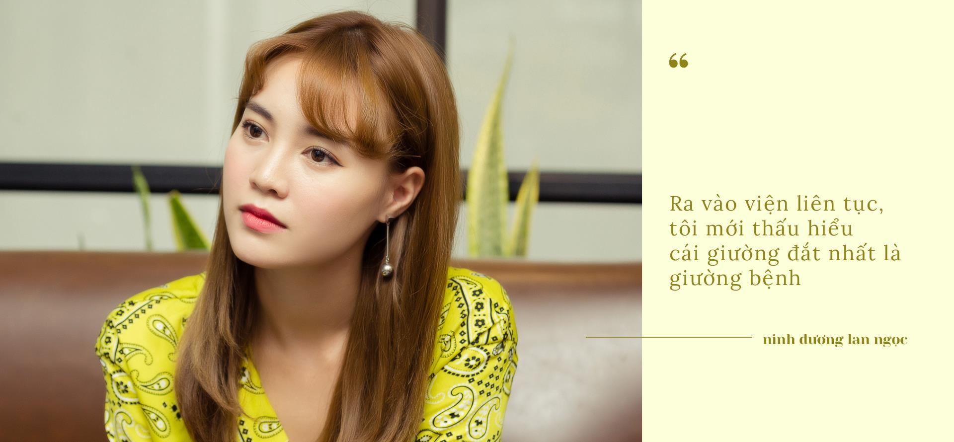 Ninh Dương Lan Ngọc: 'Tôi bị loét dạ dày, chảy nhiều máu, nguy cơ ung thư'