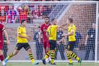 Liverpool thua Dortmund sau màn rượt đuổi kịch tính