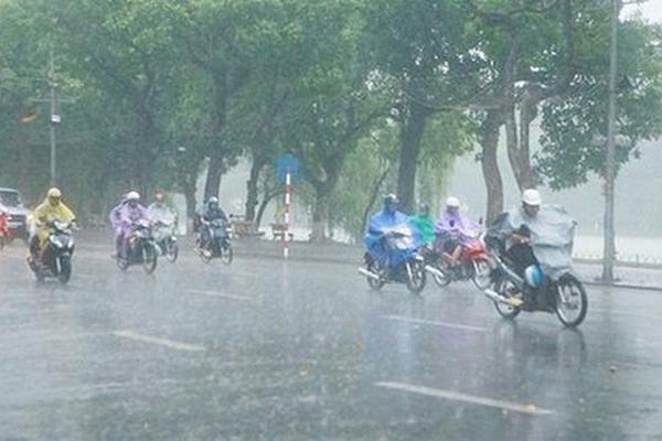 Miền Bắc mưa nhiều trong tuần tới, chấm dứt nắng nóng