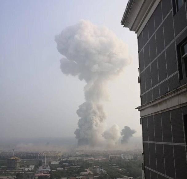Nổ nhà máy khí đốt ở TQ, thương vong rất lớn