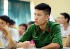 Điểm sàn xét tuyển vào 17 trường Quân đội cao nhất 23 điểm