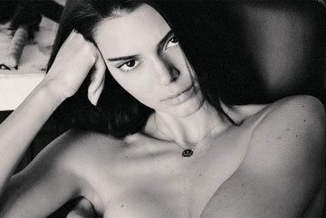 Kendall Jenner tung ảnh nude 100% khoe da thịt