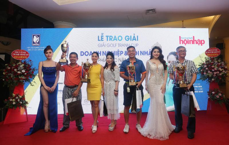 Golfer Vũ Quang Hoàng vô địch giải golf doanh nhân Hà Nội