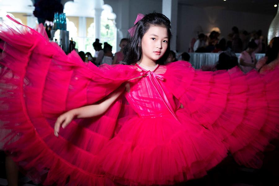 Lệ Hằng,H'Hen Niê,Pink Summer Fashion Kids