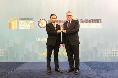 HDBank nhận giải 'Ngân hàng bán lẻ nội địa tốt nhất năm 2019'