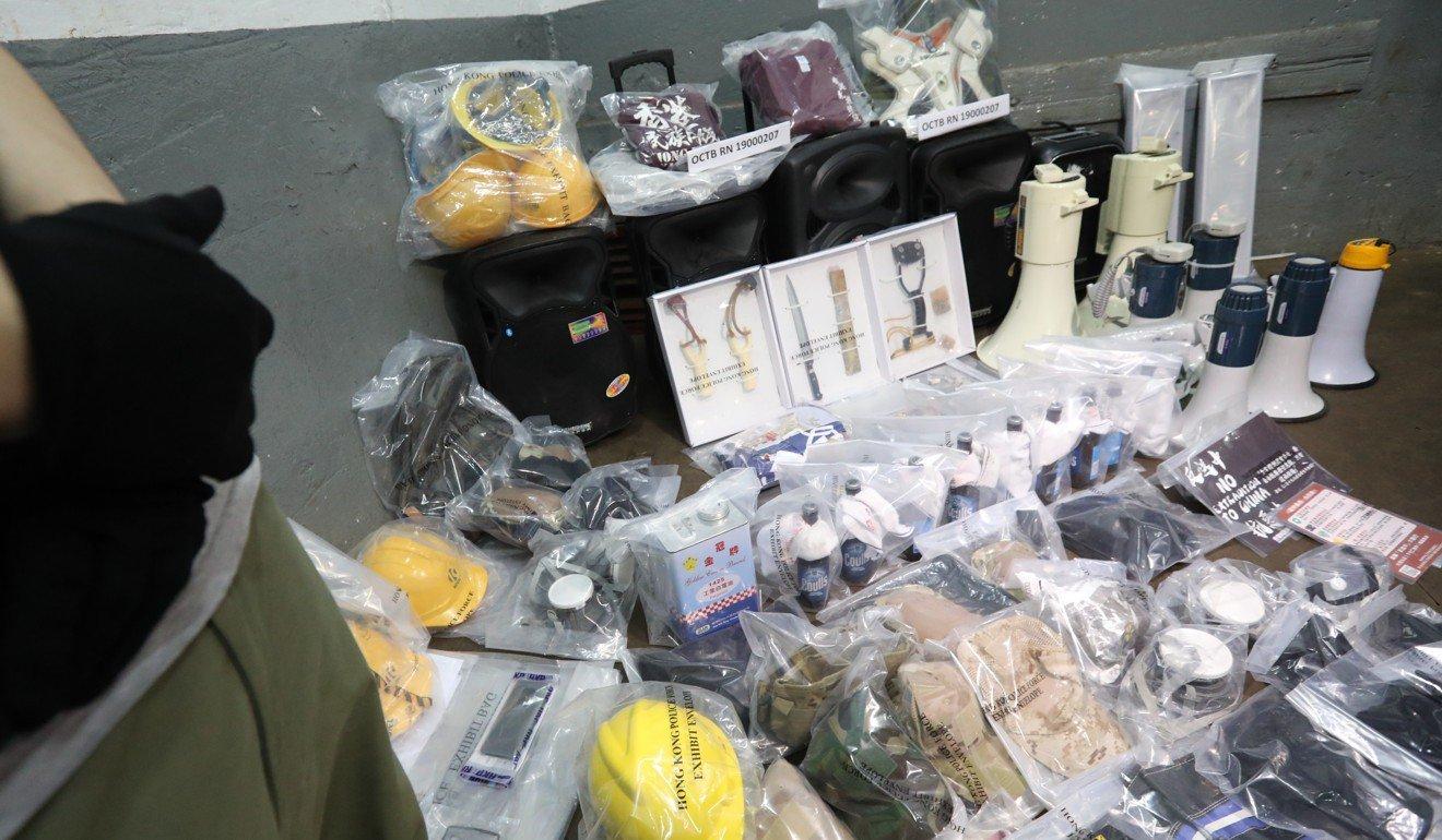 Hong Kong,biểu tình,khủng bố,chất nổ
