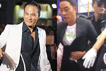'Đại ca showbiz Hong Kong' Nhậm Đạt Hoa bị đâm giữa sự kiện