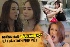 Ngoài 'Về nhà đi con', phim Việt cũng từng có những màn 'đánh ghen hộ' khiến khán giả hả hê