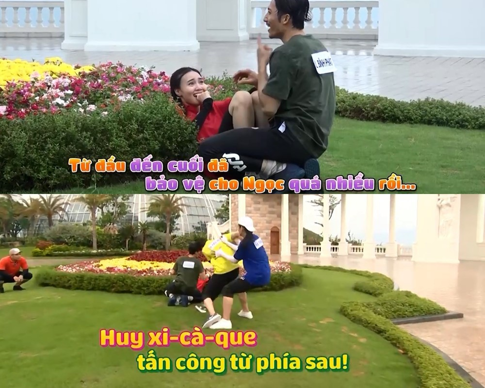 Chạy đi chờ chi,Running Man,Trấn Thành,Ninh Dương Lan Ngọc,Ngô Kiến Huy,Liên Bỉnh Phát,BB Trần
