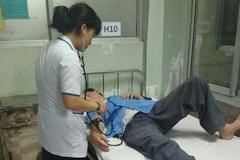 Đánh nhau tại phòng làm việc, nam điều dưỡng ở Bình Định nhập viện