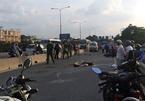 Xe buýt va chạm xe máy, nam thanh niên tử vong