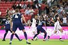 Juventus 0-1 Tottenham: Ronaldo im tiếng, Lamela lập công (H1)