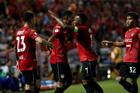 Đặng Vân Lâm xuất thần, Muangthong thắng đội nhì bảng