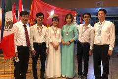Việt Nam có 1 HCB, 3 HCĐ tại Olympic Sinh học quốc tế 2019