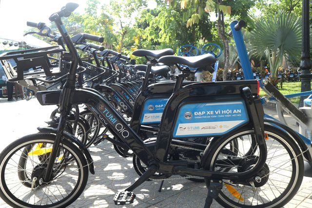 public bicycle stations,bicycle sharing in vietnam,hoi an,da nang,social news,english news,Vietnam news,vietnamnet news