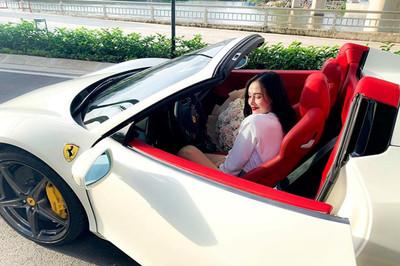 Hot girl Sài thành sở hữu siêu xe Ferrari 458 Spider biển tứ quý 8