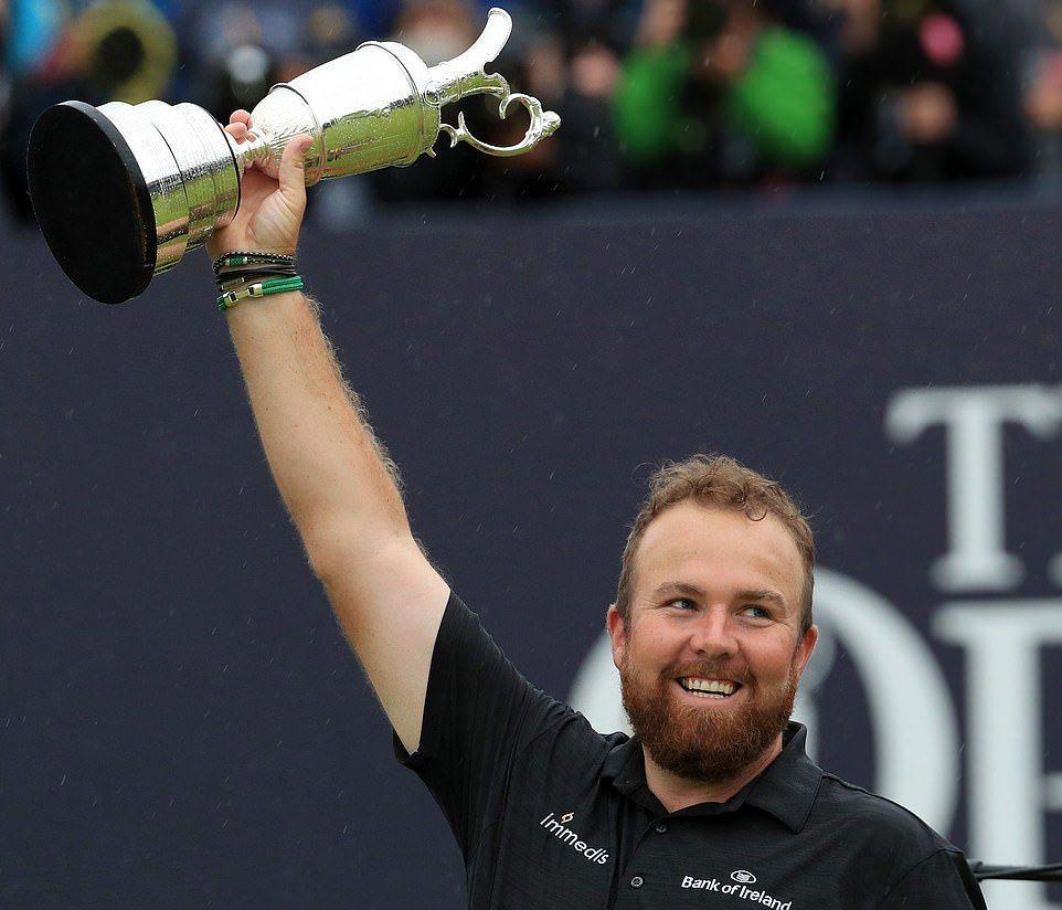 Shane Lowry lần đầu đăng quang The Open