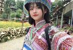 Xao xuyến nét đẹp trong sáng của cô gái dân tộc Giáy