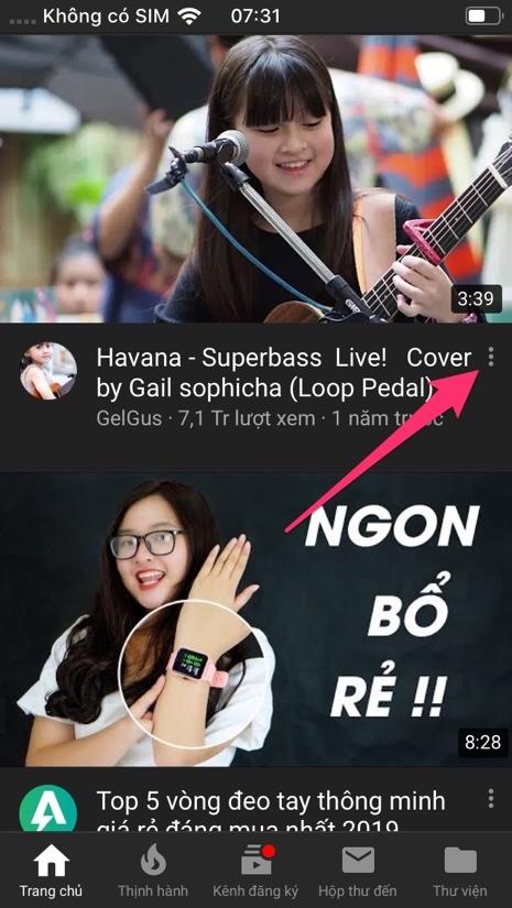 Cách ẩn các đề xuất kênh không mong muốn của YouTube