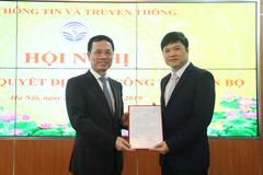 Ông Hoàng Minh Cường được bổ nhiệm làm Cục trưởng Cục Viễn thông