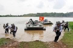 Hải quân đánh bộ - lực lượng tinh nhuệ bảo vệ chủ quyền biển, đảo
