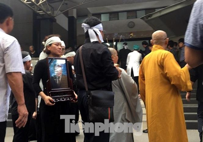 Ông Trần Bắc Hà được an táng tại nghĩa trang ở Đồng Nai